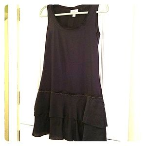 Ann Taylor LOFT blue sleeveless tshirt dress
